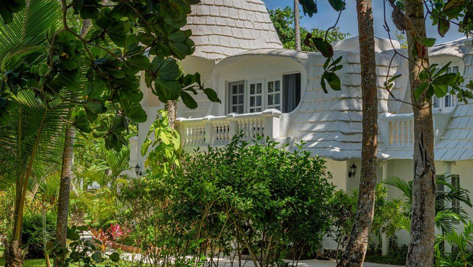 Vue Jamaica depuis jardin